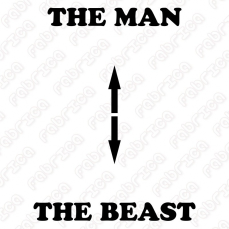 The man, the beast
