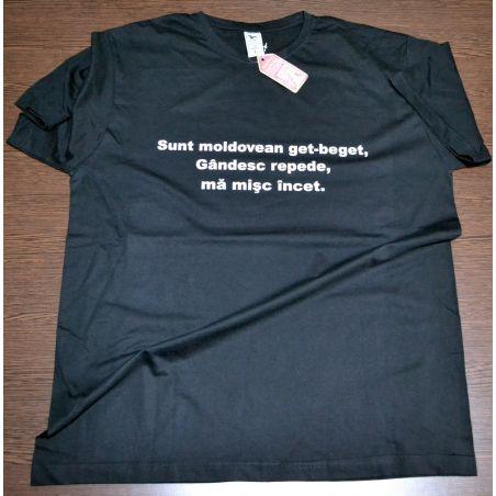 Tricou imprimat - Moldovean get-beget