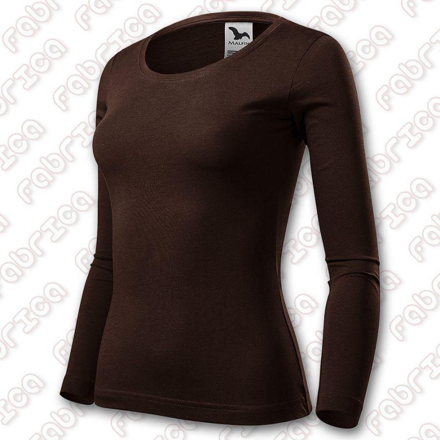 Fit-T LS - tricou slim-fit cu mânecă lungă, damă