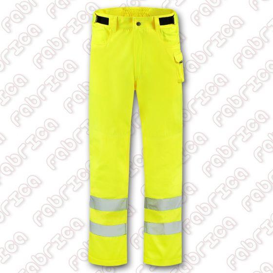T65 - RWS pantaloni de lucru fluorescenti, cu elemente reflectorizante