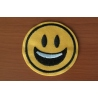 Smiley - Patch brodat adeziv, 5 cm