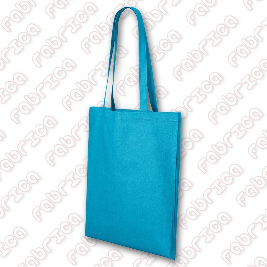 Shopper - sacoșă bumbac, 45x40 cm, manere 70 cm