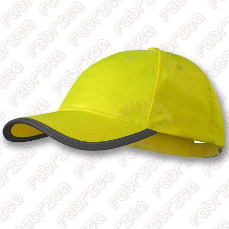 Șapcă CYCLE - fluorescentă reflectorizantă