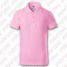Tricou polo Pique pentru copii - culoare roz