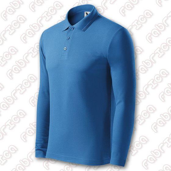 Tricou Polo Pique LS - cu mânecă lungă