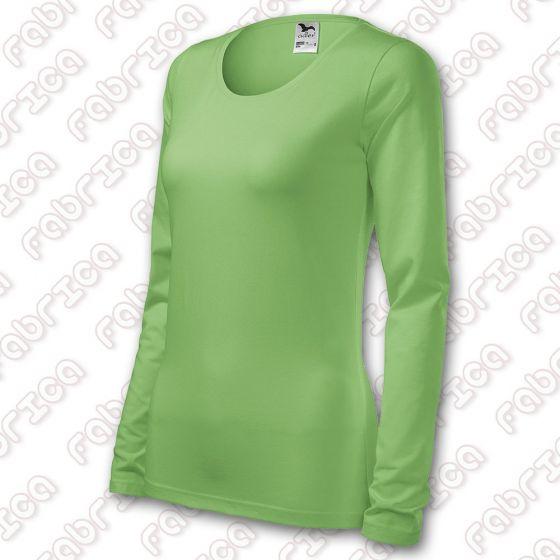 Slim - tricou cu mânecă lungă, de damă
