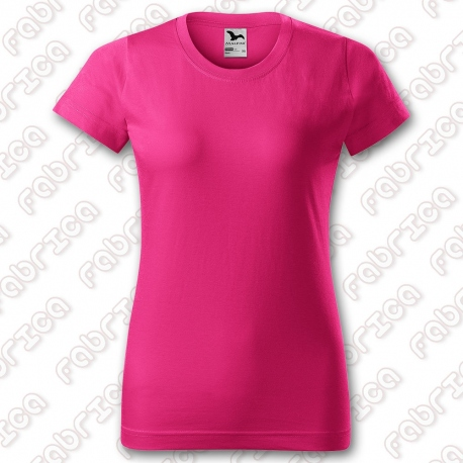 Basic - tricou de damă, bumbac 100%