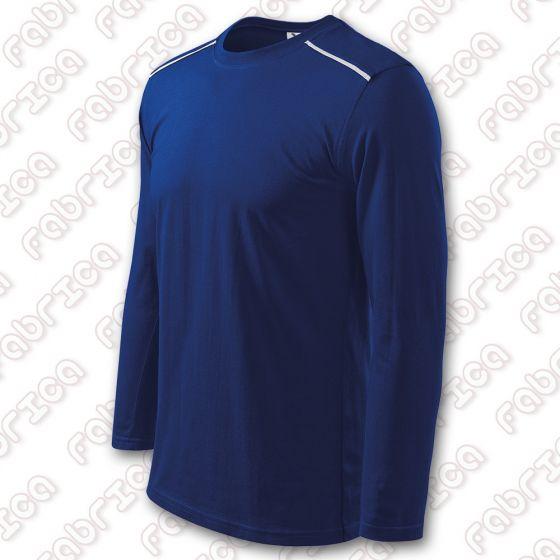 Tricou unisex cu manecă lungă - bumbac, 180 g/mp