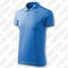 Tricou polo single jersey 180 g/mp