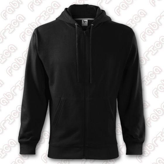 Trendy Zipper - Hanorac cu fermoar și glugă, pentru bărbați