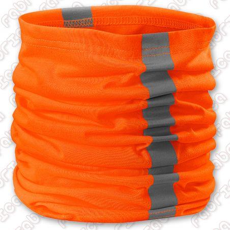 Eșarfă Twister fluorescentă și reflectorizantă