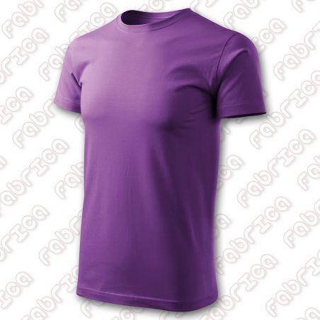Basic TagFree unisex - Tricou bumbac, fără etichetă logo